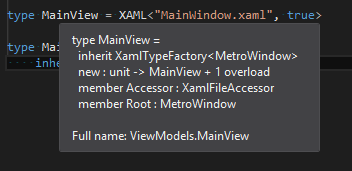 MetroWindow with FsXaml