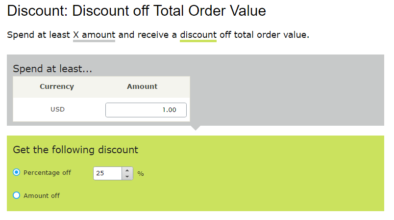 Off total order value fields